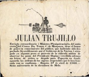 'Julian Trujillo' 1860